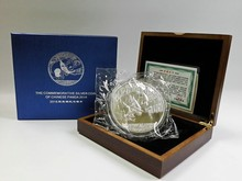 2016 Chinese Panda commemorative silver coin 1kg with COA and box for collection free shipping