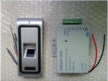 with power supply transformer 125khz  metal Fingerprint Biometric access control rfid reader door access control