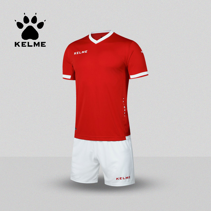 KELME Brand Soccer Set College Football Jerseys Custom Soccer Jerseys 2017 Training Survetement Football Men Uniforms K15Z212(China (Mainland))