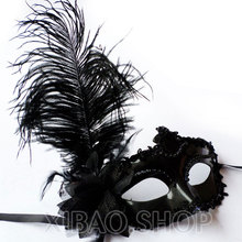3PCS White Fashion Sexy Ladies Wedding Feather Mask Masquerade Halloween Prom Party Masks Costume Ball Face Mask Free Shipping