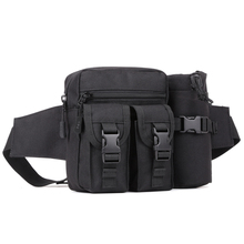 Military Waterproof Nylon Men Assault Chest Day Back Pack Crossbody Water Bottle Bags Belt Shoulder Messenger Waist Pack Bag