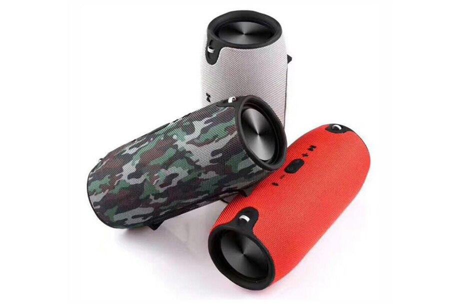 9 2018 Portable TF Card USB FM Radio Line in Wireless Fabric BT Speakers