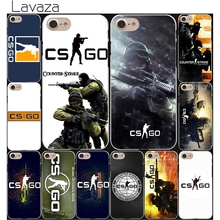 Lavaza Counter Strike cs go Game Hard White Coque Shell Phone Case for Apple iPhone 8 7 6 6S Plus 5 5S SE 5C 4S X 10 Cove
