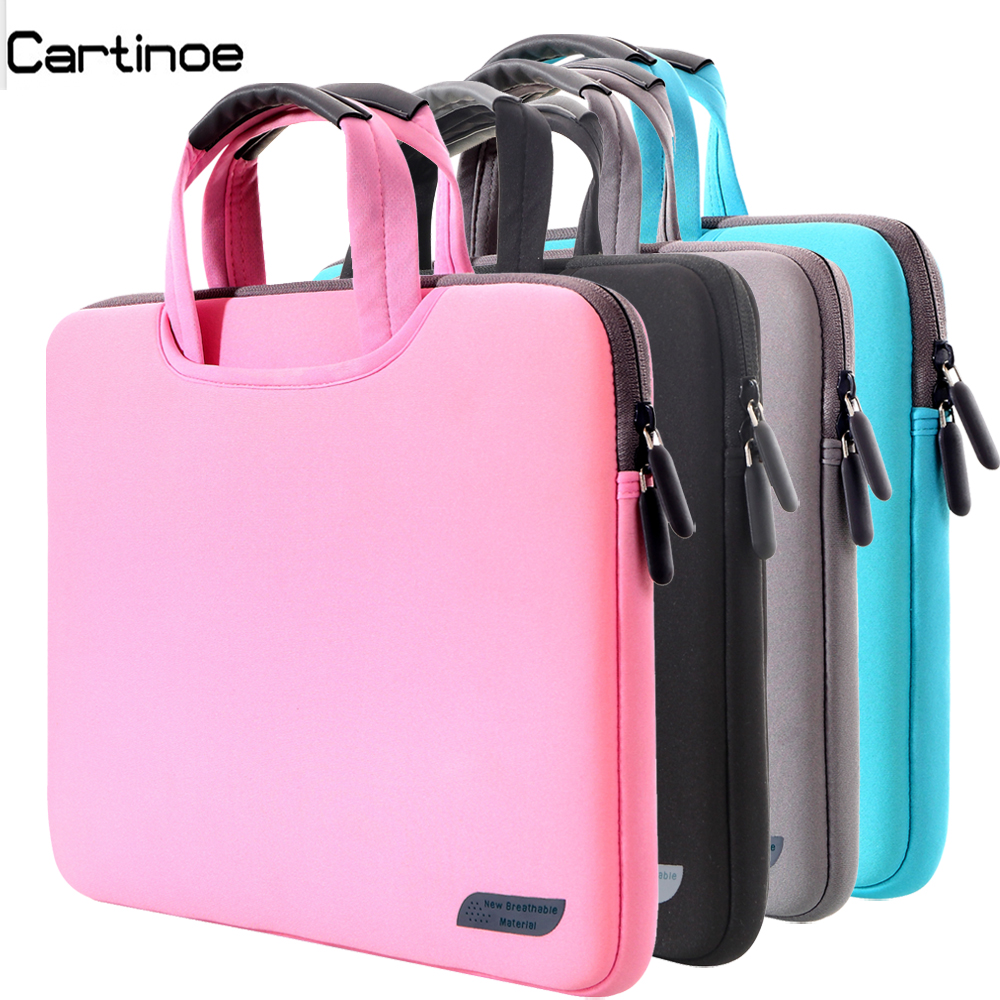Portable Laptop Sleeve bag 11 12 13 14 15.6 inch Computer Beiefcase Handbag men women Hand Carrying case for Macbook Pro 13 15(China (Mainland))