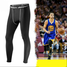 Men's basketball tights sports leggings pants running fitness elastic compression pants Sweatpants Bodybuilding Gym Trousers(China)