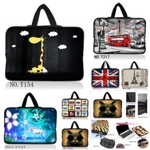 Latest Soft Sleeve Case Bag Cover w. Handle For 10 11.6 12 13 13.3 15 15.4 15.6 17 17.3 inch HP Laptop / Netbook(China)