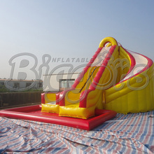 Factory Direct Inflatable Slide ,Inflatable Jumping Slide With Pool For Sale