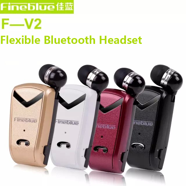 Original brand mini Wireless stereo clip Bluetooth headset retractable bluetooth Headphones For iPhone Samsung all phone<br><br>Aliexpress
