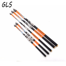 Mass inventory Rock Fishing Rod 2.4m 2.7m 3.0m 3.6m 4.5m 5.4m 6.3m High Quality Carbon Fiber Telescopic Fishing Rod(China)