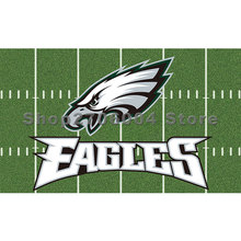 3'x5' durable and metal rings GREEN STADIUM flag Philadelphia Eagles flag(China)
