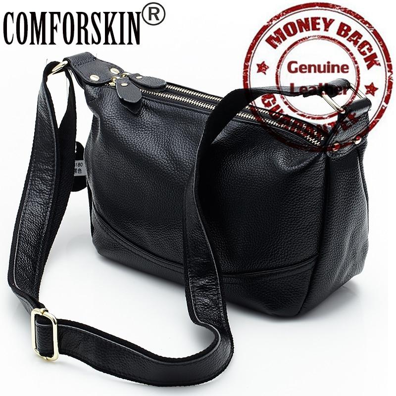 2017 Luxury Genuine Leather Soft Women Messenger Bag Brand New Large Capacity High-end Market Handbag Factory Price On Sale<br><br>Aliexpress