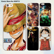 One piece monkey d luffy ace zoro design transparent clear Cases Cover for Apple iPhone 6 6s Plus 7 7Plus SE 5 5s 4s 5c