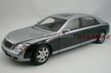 * One Piece Only! Rare Black & Gray 1:18 AutoArt AA Maybach 62 Diecast Model Car Luxury Collection Limitied Edition