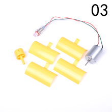 Hot Sale 3V-5V Small DC Motor Vertical Micro Wind Turbines Blades Power Energy Generator DIY Kit