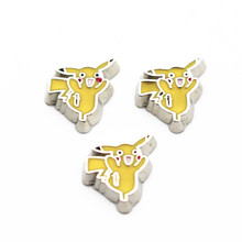 Buy Hot Sale 10pcs/lot Metal Pokemon Pikachu Floating Charms Living Glass Floating Lockets Pendant Necklace DIY Jewelry for $1.50 in AliExpress store
