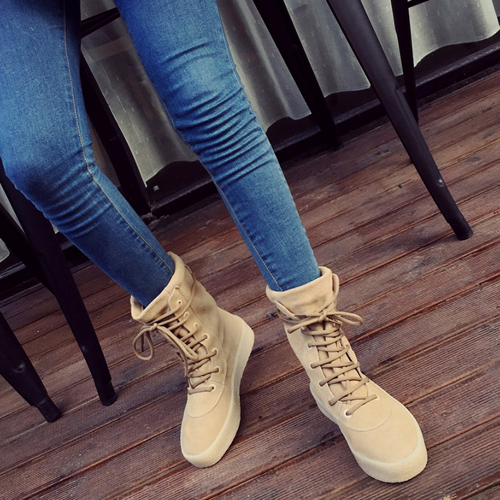 New Style Handmade Ladies Autumn Winter Warm Crepe Bottom Women Boots Shoes Casual Season Fashion Female Boots High Quality<br><br>Aliexpress