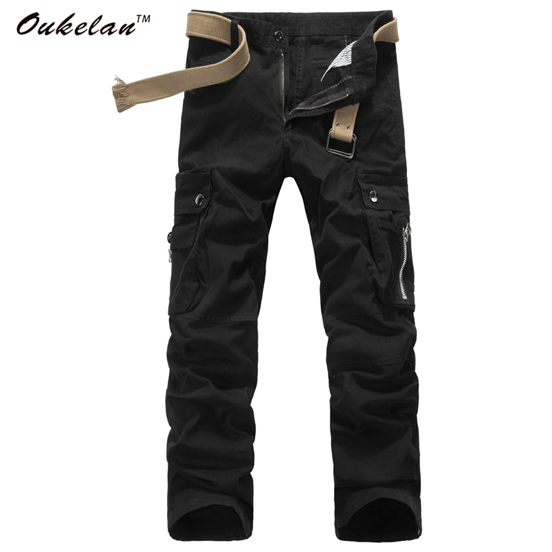High quality Men Cargo Pants Military Army Pant 10...