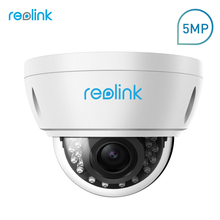 Reolink Security Camera 5MP PoE 4x Optical Zoom Built-in SD card Slot Outdoor Indoor Waterproof IP Camera RLC-422-5MP(China)