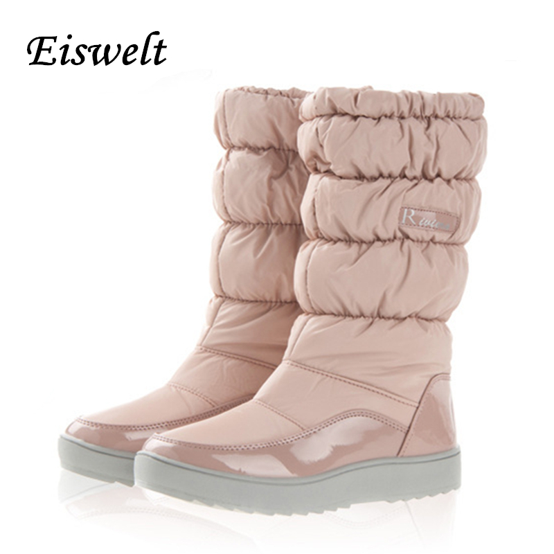 Winter Snow Boots New Waterproof Shoes Woman Platform Boots Woman Shoes#HL67<br><br>Aliexpress