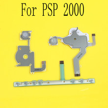Jing Cheng Da For PSP 2000 PSP2000 Left Right Button Function Buttons Start Home Volume PCB Keypad Flex Cable Full Set(China)