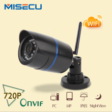MiSecu 720P ip WIFI camera onvif wifi 1280*720P IP cam P2P wireless night vision IR waterproof ABS Plastic CCTV home security