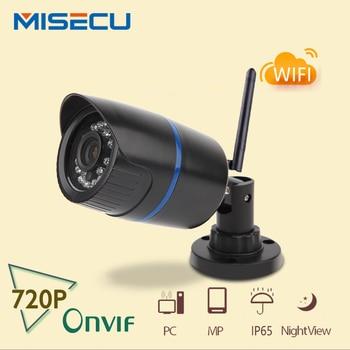 Misecu 720 p ip wifi camera onvif wifi 1280*720 p ip cam P2P không dây night vision IR ABS chống thấm Nhựa CCTV home an ninh