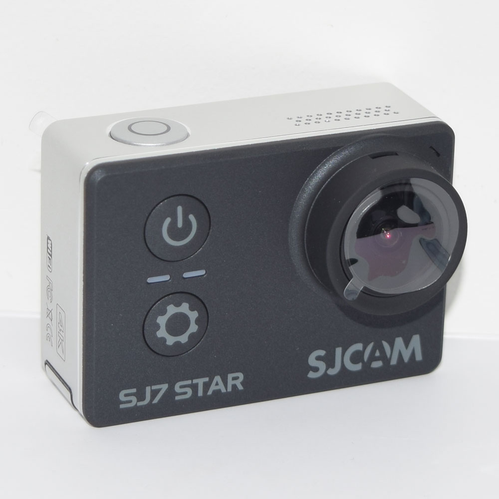 black SJCAM SJ7 Star 4K Wifi Sports Action Camera