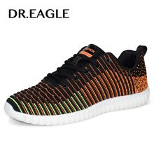 DR.EAGLE Outdoor Super light men's sport shoes Man Mesh casual sneaker krasovki men sneakers running  shoes SIZE 39-44