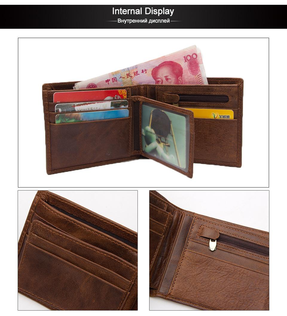 3 wallet men leather