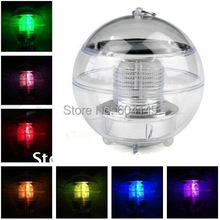 Freeshipping LED Solar Floating Waterproof Light/ Solar Garden Light/ Solar Lawn Light, 7 Colors Changeable
