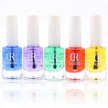 1Pcs Net Weight 12ml 6 Color Can be Selected Optional Bright Oil Transparent Base Oil UV Gel Nail Polish Nail Art(China)
