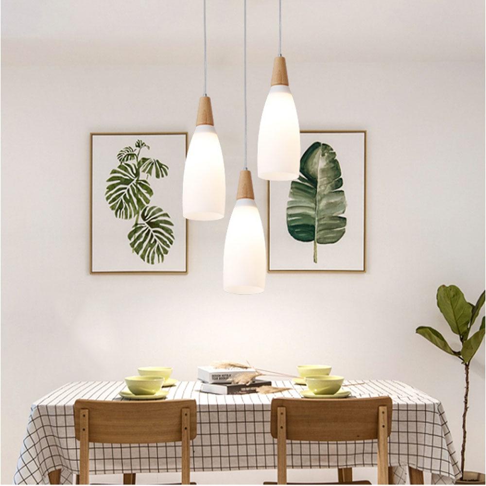 HGhomeart Modern Dining Lighting Led Pendant Lamp Suspension Luminaire 3 Lights Led Pendant Light Home Lighting Living Room Lamp<br>