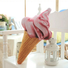 Creative Ice Cream Shape Cushion Pillow Toys Baby Food Plush Seat Cushions Home Decoration Children Stuff Doll Toys Gifts(China)