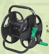 Portable hose reel cart for 20m *1/2'' PVC garden hose(China)