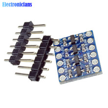 5PCS IIC I2C Logic Level Converter Bi-Directional Board Module 5V/3.3V DC For Arduino With Pins(China)