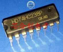 Free shippin 10pcs/lot HD74HC238P 74HC238 decoder / demultiplexer new original