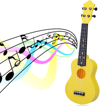 "Professional 21"" Acoustic Ukulele Kids Musical Instrument Toy High Quality Educational Toy Children Learning Playing"