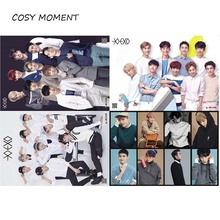 COSY MOMENT 1 piece different designs KPOP EXO Korean Stars Posters Xiu Min Lu Han Kris Paintings Wall Pictures Poster QT254