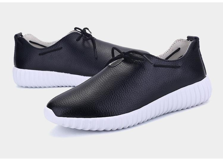 AH 2816 (21) Women's Leather Flats Shoes