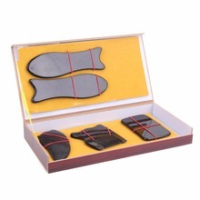 5Pcs/Set Chinese Traditional Treatment Scraping Gua Sha Tool Back Neck Face Massage Tool Set Acupuncture Treatment Kits