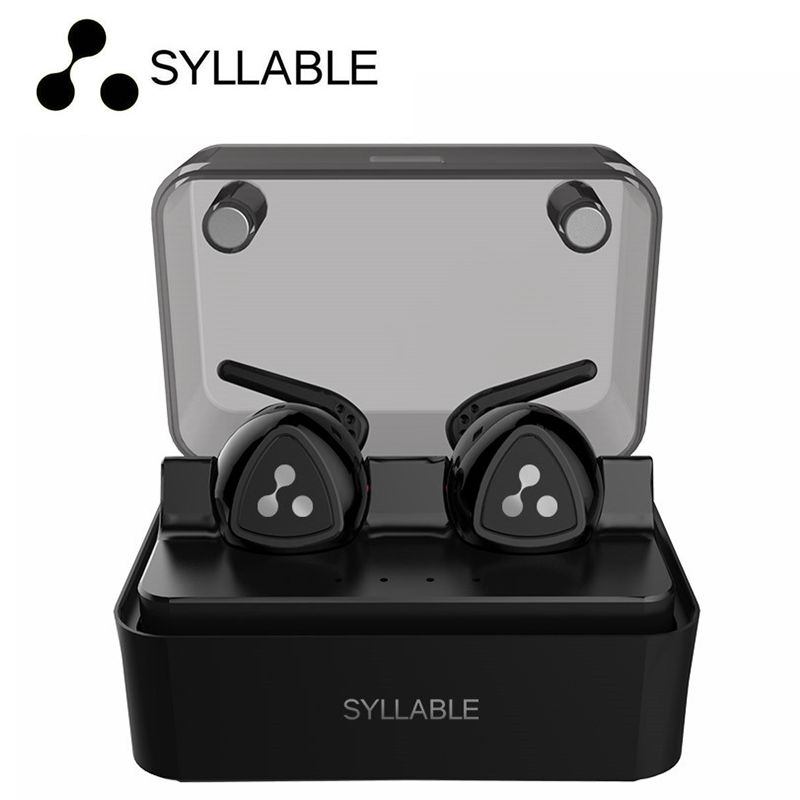 100% ORIGINAL Syllable D900 MINI D900S Updated Version Stereo Bluetooth Earphone Headset Wireless Earbuds also have se215 se315<br>