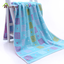 HAKOONA Cotton Bath Towel Thicken Big Bathroom Towels Soft Absorbent Adult Cotton Bath Towel Wipe The Chest 70*140cm(China)
