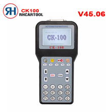 Free Shipping V45.06 CK-100 CK100 Auto Key Programmer With 1024 Tokens Add New Car Models(for Ford, Honda and Toyota)