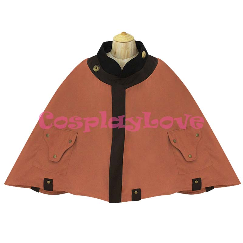 Stock Hot Anime Kabaneri of the Iron Fortress Cosplay Costumes Mumei Cloaks Koutetsujou no Kabaneri Outfit For Christmas