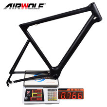 2017 New Carbon Bike Frame Ultralight only 766g Toray T1100 carbon road frame with BB86 V-brake monocoque Chinese carbon frame(China)