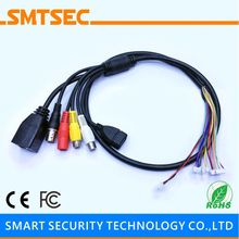 SIP-E-BG RJ45+BNC+DC+USB+Audio input+Audio Output CCTV Network Cable for SIP-E Series IP Camera Module Single Board