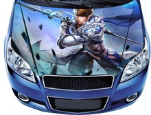 Car Styling Covers Car Stickers Customize 3D Car Hood Sticker Decal Racing Camouflage Vinyl Film Sticker Paint
