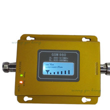 70dB GSM 980 Gain New LCD Display GSM 900MHZ Signal booster Cell Phone Mobile Signal Booster/Amplifier/repeater kit