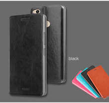 Original Mofi For Xiaomi Redmi 4X Case Hight Qaulity Luxury Flip Pu Leather Cover For Redmi 4X Stand Cases(China)