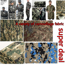 Camouflage cloth classic five-star camouflage cloth military training clothing fabrics of polyester twill fabric(China)